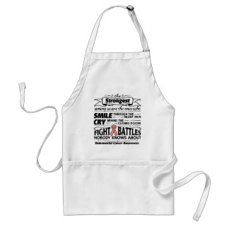 Endometrial Cancer Strongest Among Us Adult Apron