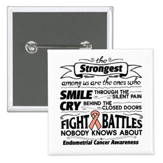 Endometrial Cancer Strongest Among Us Button