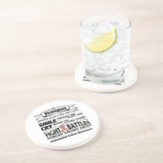 Endometrial Cancer Strongest Among Us Coaster