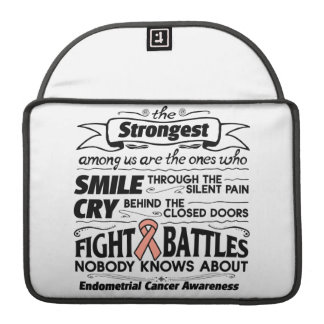 Endometrial Cancer Strongest Among Us Sleeve For MacBook Pro