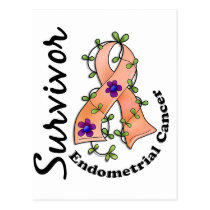 Endometrial Cancer Survivor 15 Postcard