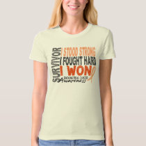 Endometrial Cancer Survivor 4 T-Shirt