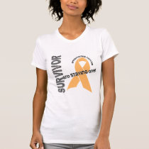 Endometrial Cancer Survivor T-Shirt