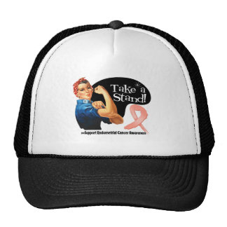 Endometrial Cancer Take a Stand Hat