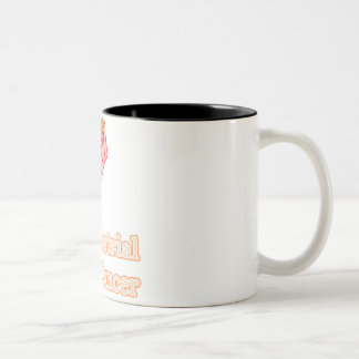 Endometrial Cancer Two-Tone Coffee Mug