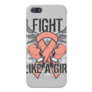 Endometrial Cancer Ultra Fight Like A Girl Covers For iPhone 5