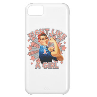 Endometrial Cancer Vintage Rosie Fight Like A Girl Case For iPhone 5C