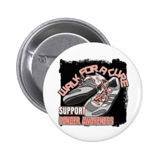Endometrial Cancer Walk For A Cure Shoes Button