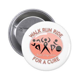 Endometrial Cancer Walk Run Ride For A Cure Pins
