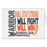 Endometrial Cancer Warrior Cards