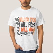 Endometrial Cancer Warrior T-Shirt