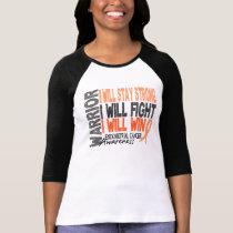 Endometrial Cancer Warrior Tee Shirt