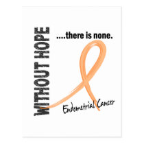 Endometrial Cancer Without Hope 1 Postcard