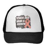 Endometrial/Uterine Cancer Tough Men Wear A Ribbon Hat