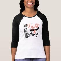 Endometrial Uterine Cancer Warrior T-Shirt