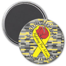 ENDOMETRIOSIS AWARENESS 2 Inch Round Magnet