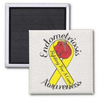 ENDOMETRIOSIS AWARENESS 2 Inch Square Magnet