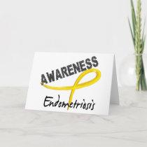 Endometriosis Awareness 3 Card