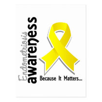 Endometriosis Awareness 5 Postcard