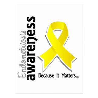 Endometriosis Awareness 5 Postcard