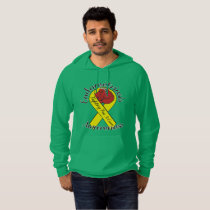 ENDOMETRIOSIS AWARENESS American Apparel Hoodie