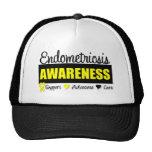 Endometriosis Awareness Badge Hat