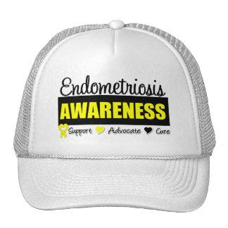 Endometriosis Awareness Badge Trucker Hat