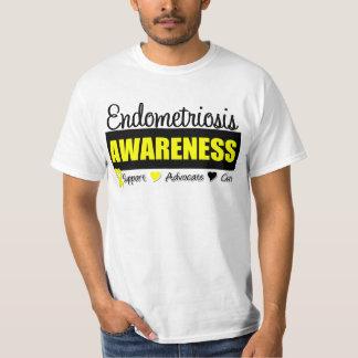 Endometriosis Awareness Badge Shirt