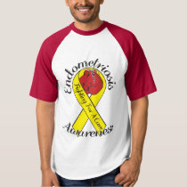 ENDOMETRIOSIS AWARENESS Baseball T-Shirt