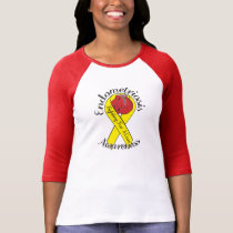 ENDOMETRIOSIS AWARENESS Bella 3/4 Sleeve T-Shirt