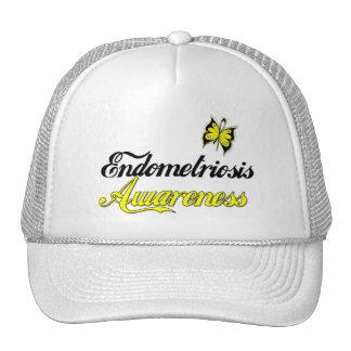 Endometriosis Awareness Butterfly Trucker Hat