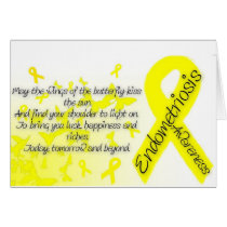 Endometriosis Awareness, Butterfly Quote Card
