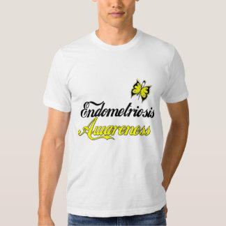 Endometriosis Awareness Butterfly T Shirt