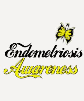 Endometriosis Awareness Butterfly Tshirts
