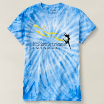 Endometriosis Awareness Cyclone Tie-Dye T-Shirt