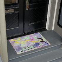 Endometriosis Awareness Doormat