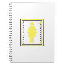 endometriosis awareness female notebook