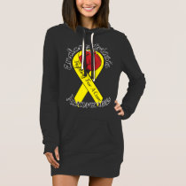 ENDOMETRIOSIS AWARENESS Hoodie Dress