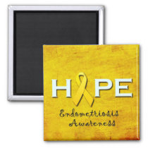 Endometriosis Awareness Magnets