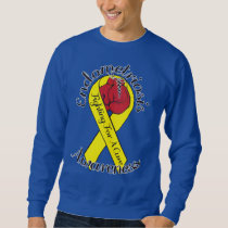 ENDOMETRIOSIS AWARENESS Men's Basic Sweatshirt