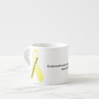 Endometriosis Awareness Month Expresso Mug