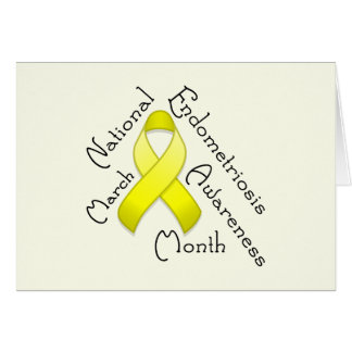 Endometriosis Awareness Month Light Card