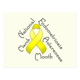 Endometriosis Awareness Month Light Postcard