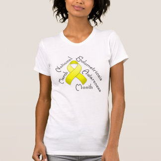 Endometriosis Awareness Month Light Shirt