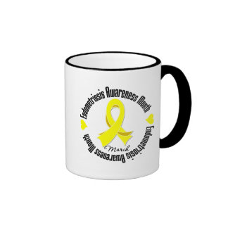 Endometriosis Awareness Month Coffee Mugs
