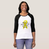 Endometriosis Awareness Month Ribbon Shirt