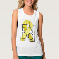 Endometriosis Awareness Muscle Tank Top
