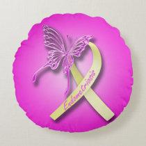 Endometriosis Awareness Pillow