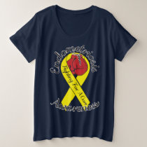 ENDOMETRIOSIS AWARENESS Plus-Size Basic T-Shirt