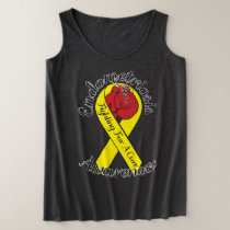 ENDOMETRIOSIS AWARENESS Plus-Size Tank Top